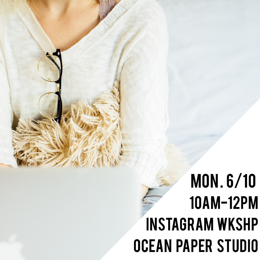 Instagram Strategy Workshop