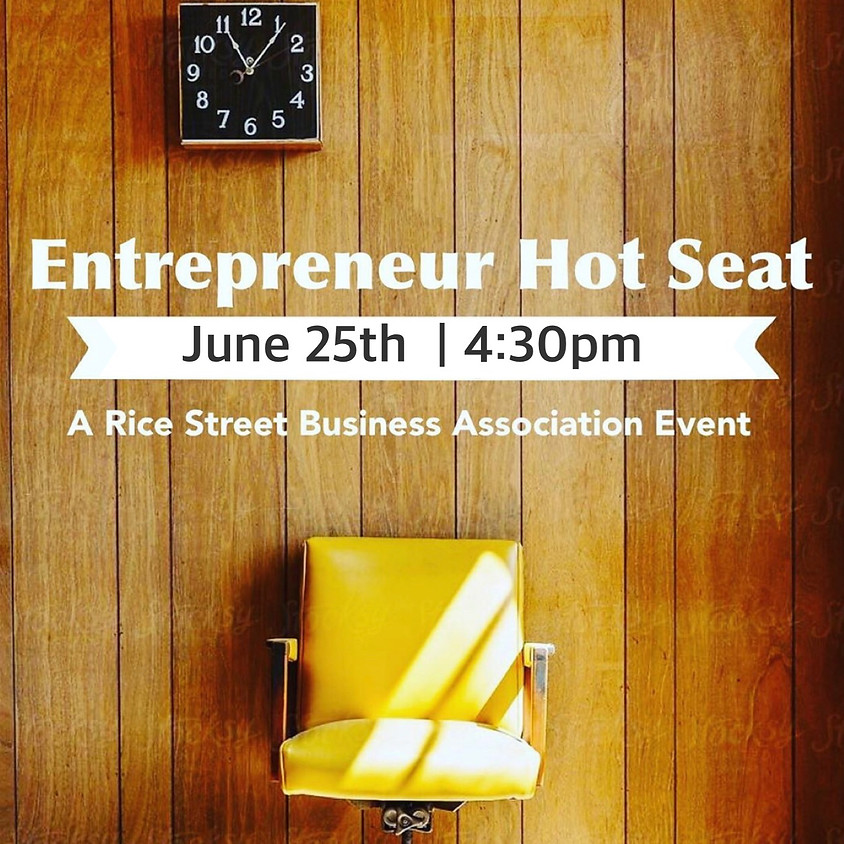 Entrepreneur Hot Seat
