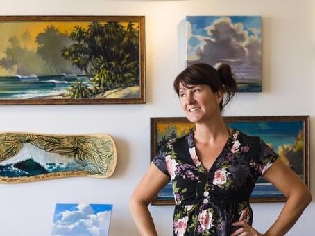 Kate Enoka of The Brightside Gallery