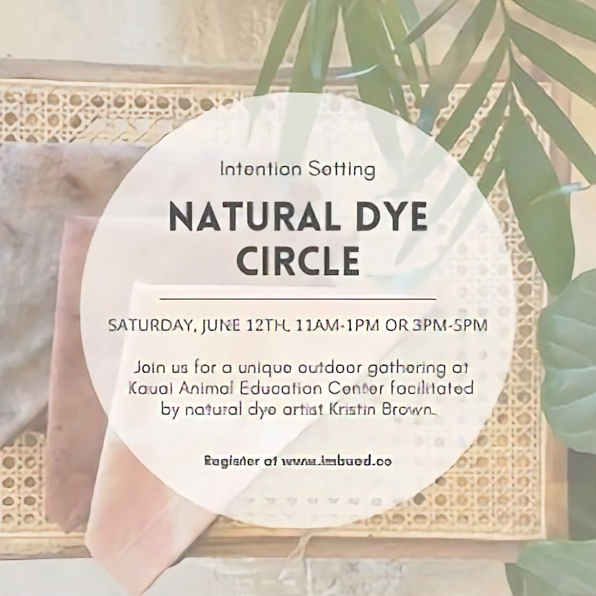 Natural Dye Circle