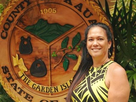 Nalani Kaauwai Brun of Kauai Office of Economic Development