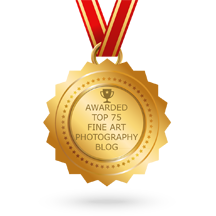 My Blog cited as one of the Top 75 Fine Art Photography Blogs on the web.