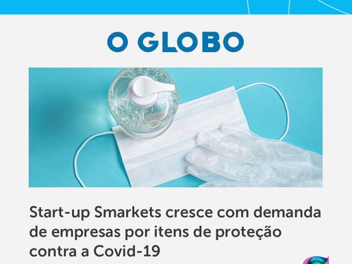 Case Marketplace Covid19 é notícia no jornal O Globo