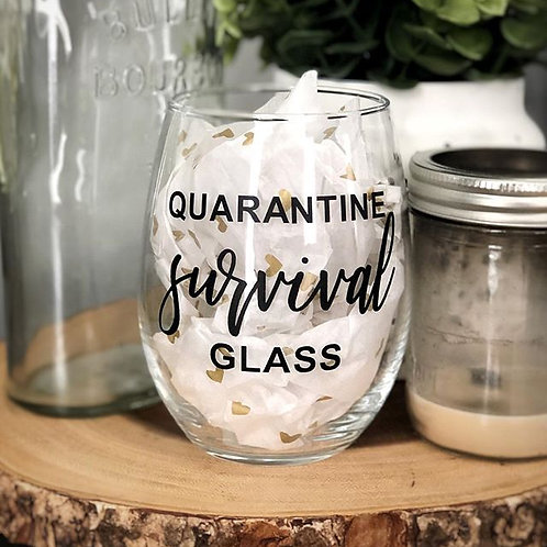 Quarantine Survival Glass