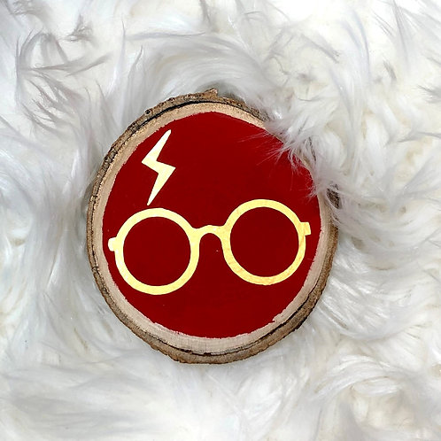 Harry Potter Wood Ornament