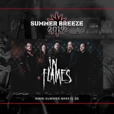In Flames confirmed at Summer Breeze