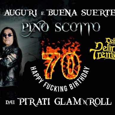 """Happy Fucking Birthday"" Pino Scotto"
