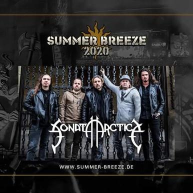 Sonata Arctica confirmed in Summer Breeze 2020!!