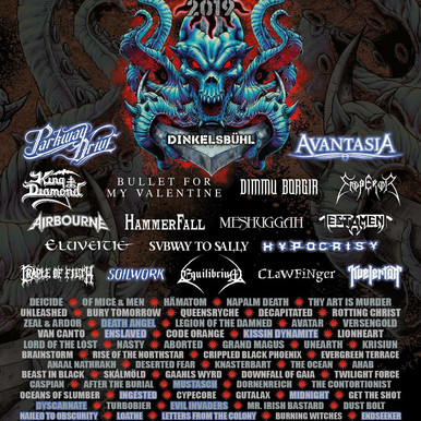 New 19 Bands on Summerbreeze Line Up