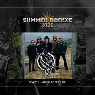 New announcement for Summer Breeze - Opeth!