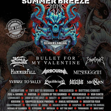 Summer Breeze 2019 is going to kick our ass!