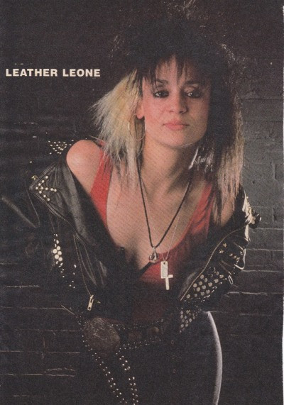 LEATHER LEONE.. QUEEN OF METAL