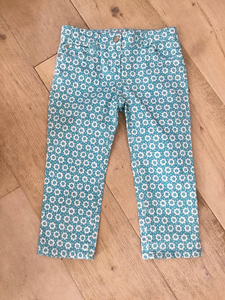 Mini Boden cropped trousers age 9