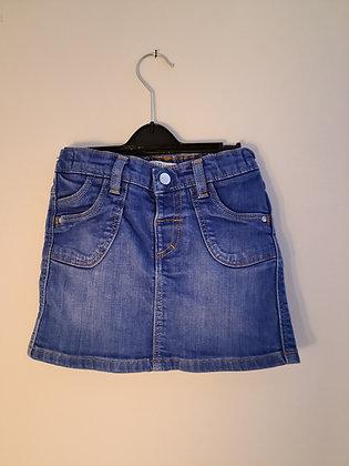 M&S Short Denim Skirt (Age 3 - 4)