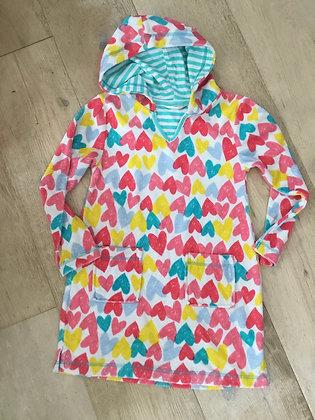 Towelling beach dress, John Lewis age 7