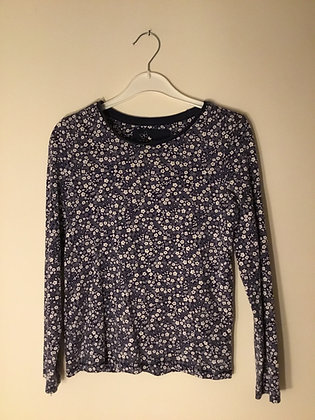 Long sleeve patterned top (age 9)