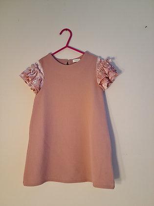 Next Pink Short Sleeve Dress (Age 2 - 3)