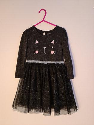 Primark Cat Dress (Age 3 - 4)