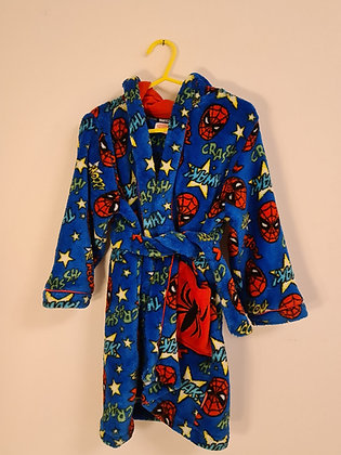 Tu Spiderman Dressing Gown (Age 2 - 3)