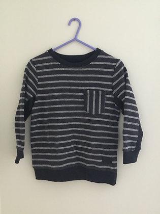 Stripy sweatshirt from Zara (age 6)