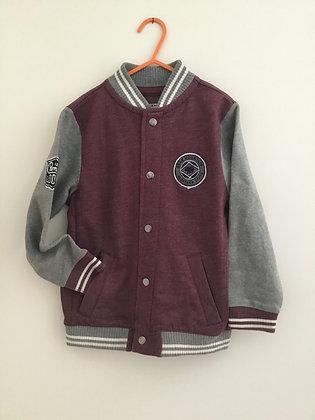 Front popper sweatshirt/jacket (age 6)