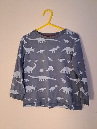 Little White Company Long Sleeve Dino Top (Age 3 - 4)