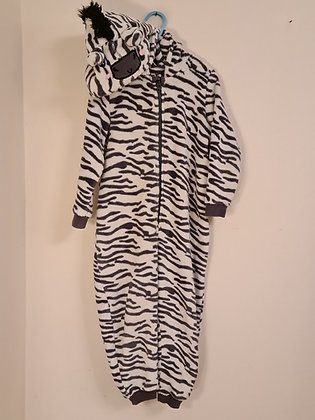 Blue Zoo Zebra All In One Sleep Suit (Age 4 - 5)