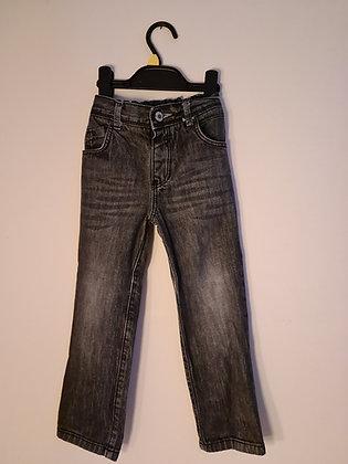 Tu Black Straight Leg Jeans (Age 3 - 4)
