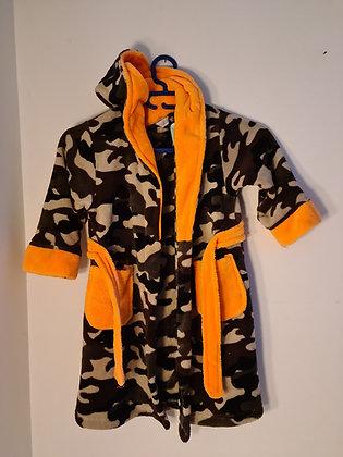 Mini Kidz Camo Print Dressing Gown (Age 3 - 4)