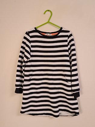H&M Long sleeve Stripy Dress(Age 4 - 5)