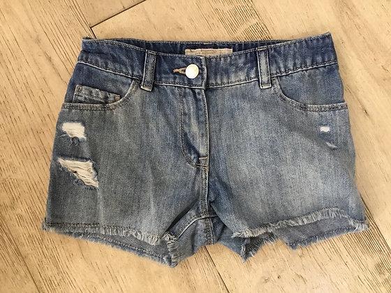 Denim shorts, Next, age 8