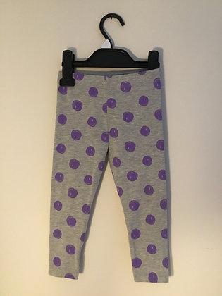 Grey spotty leggings (18-24 months)