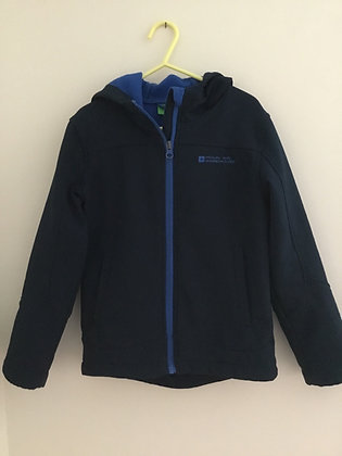 Navy hooded jacket Mountain Warehouse (age 7-8)