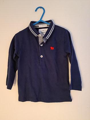 Jasper Conran Long Sleeve Polo Shirt (Age 12 - 18 months)