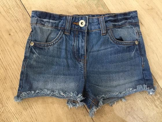 Denim shorts age 6 Bluezoo