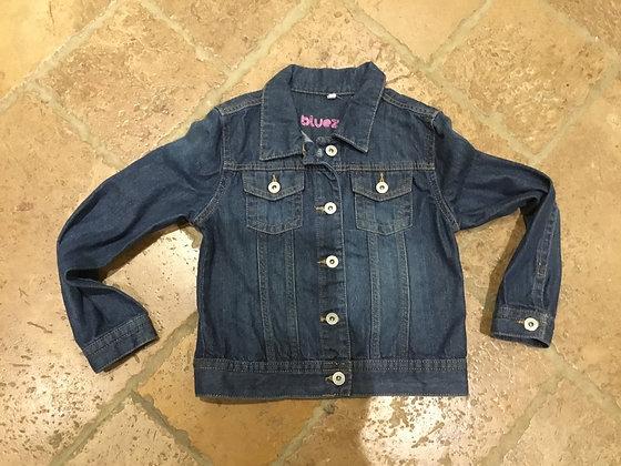 Denim jacket, age 10 Blue Zoo