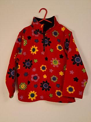 Sonoma flower patterned fleece (Age 6)
