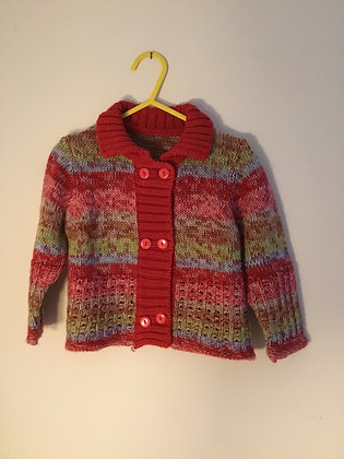 Multicoloured soft cardigan, Mothercare (12-18 months)