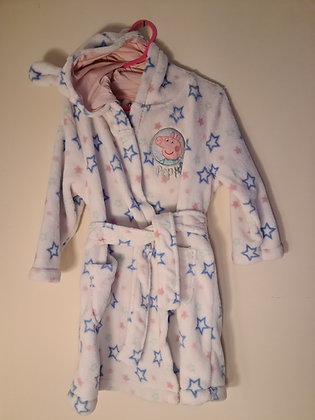 George Soft Peppa Pig Dressing Gown(age 2-3)