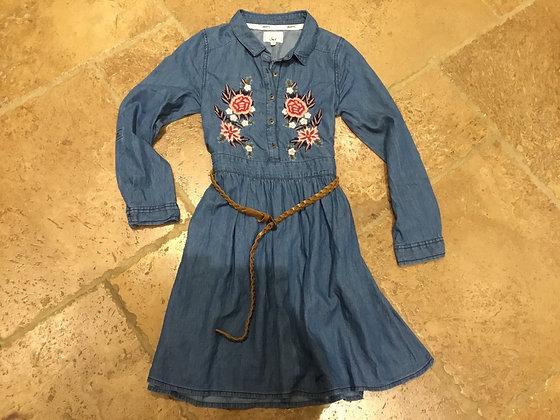 Denim dress age 11, Mantaray