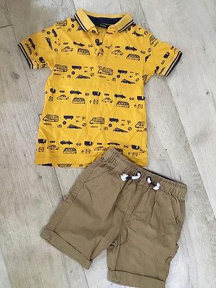 Boys 3-4 shorts and T-shirt