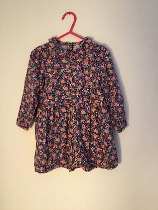 Long sleeve soft feel dress, Mothercare (18-24 months)