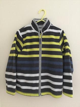 Stripy fleece (ag 7-8)