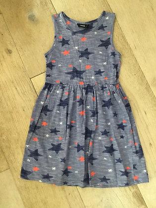 Girls age 6-7 star patterned dress