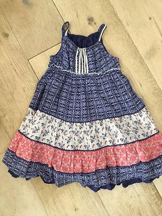 3-4 layered dress