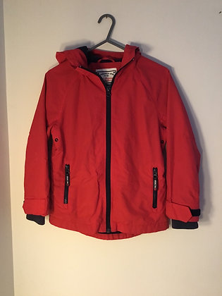 Lightweight lined red jacket