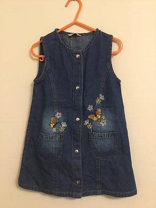 Age 2-3 denim dress M&Co