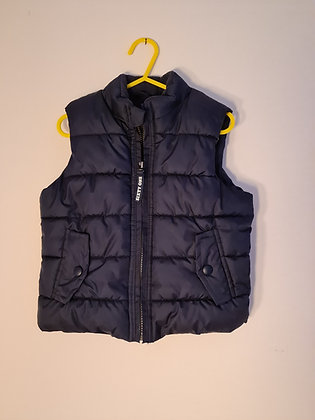 Mothercare  Navy Gilet (Age 3 -4)