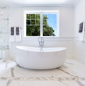 Luxury bathroom remodel San Jose