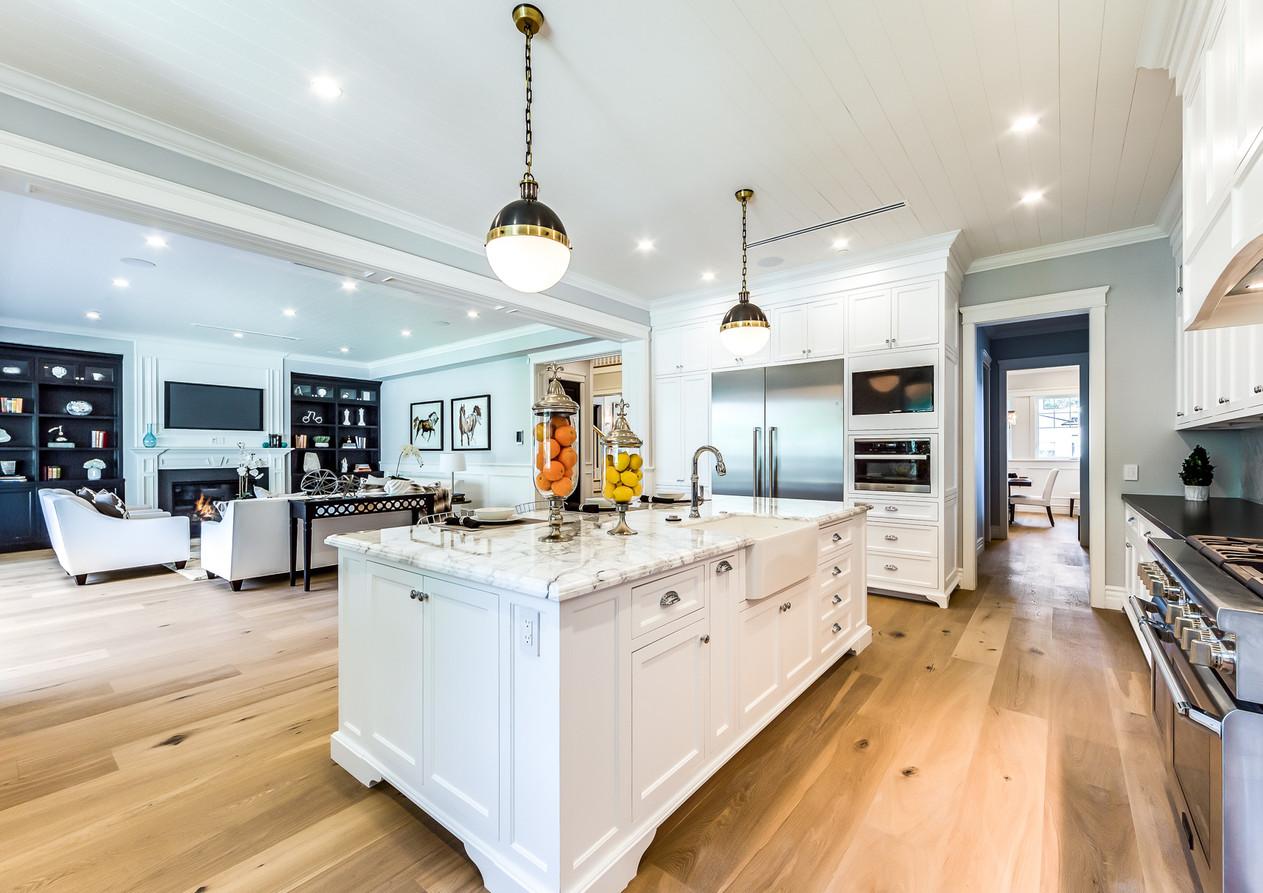 Open kitchen remodel, bay area, san jose